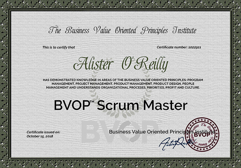 Advanced certified scrum master training course